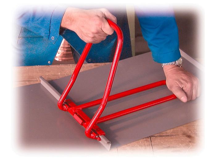 Рамка для закрытия двойного фальца своими руками
